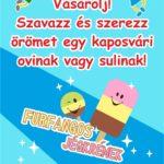 Vásárolj! Szavazz és szerezz örömet egy kaposvári sulinak vagy ovinak!!!